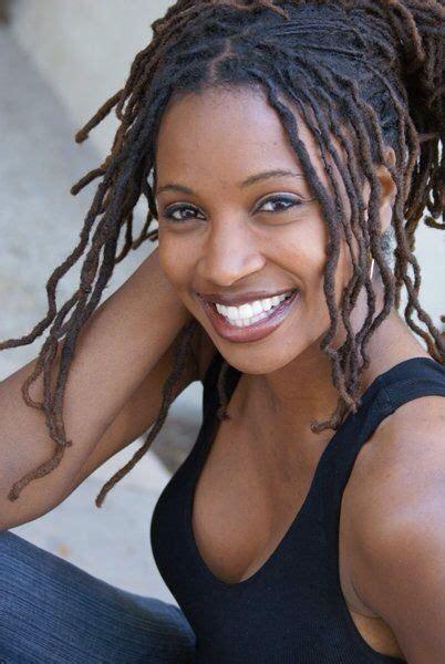 black woman model with dreadlocks on pinterest smiling black woman has nice fine locs ecstasy models