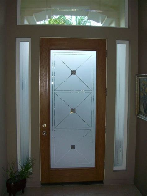 glass door designs which glass design in my front door just value doors