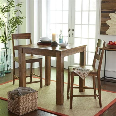 kitchen pub table parsons counter table set java