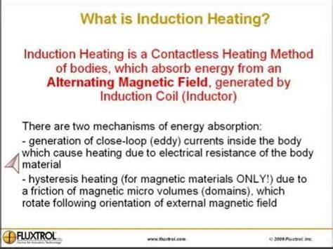 principle of induction what is induction heating the principles of induction heating by fluxtrol