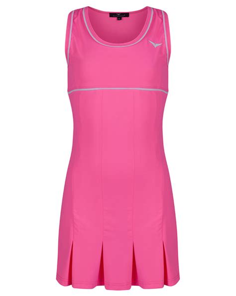 Tannia Dress by Pink Pleated Tennis Dress Golf Dress
