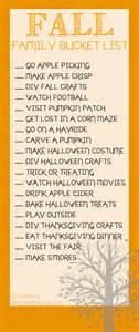fall family bucket list things to do with the family this