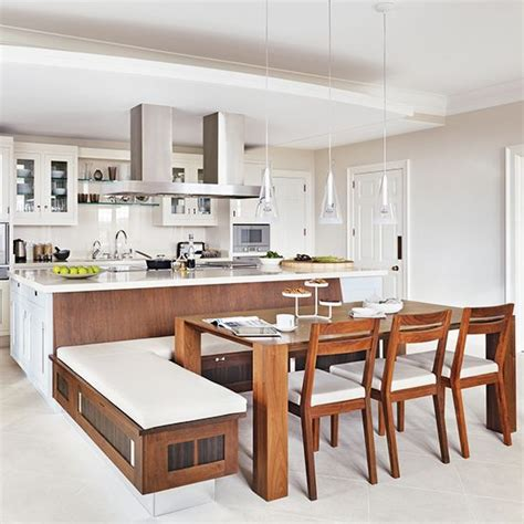 kitchen island with integrated dining table kitchen island a place to sit which booths and integrated kitchen