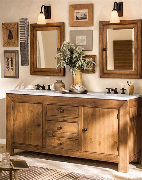 Pottery Barn Bathroom Ideas by 25 Best Ideas About Country Bathroom Vanities On