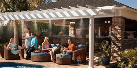 mister systems for patio arctic cove patio misting system adorable home