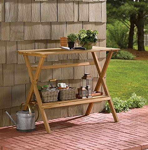 merry garden potting bench merry garden fir wood potting bench 6cows greenhouse