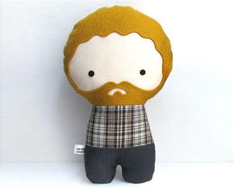 Handmade Stuffed Dolls - handmade personalized plush doll stuffed by