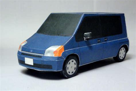 Honda Papercraft - honda mobilio papercraft paperkraft net free