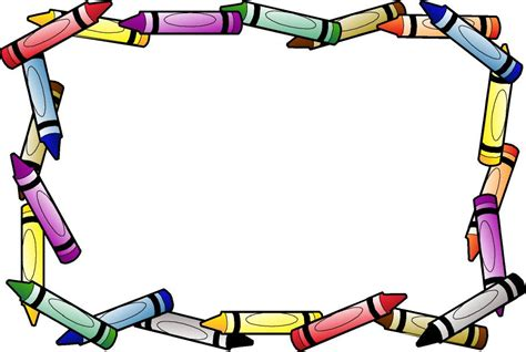 imagenes marcos escolares marcos para fotos con motivos escolares imagui