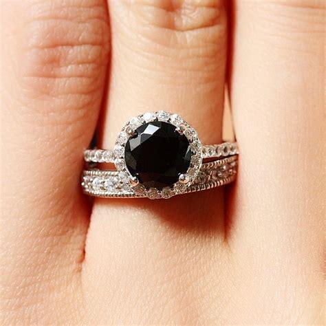 carrie bradshaw wedding ring black diamonds the fierce fashion trend dominating