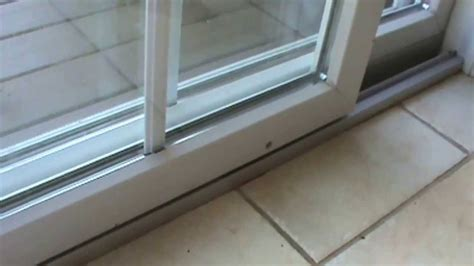 how to repair glass how to fix the sliding door that sticks youtube