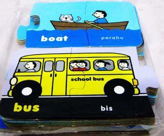 Mainan Edukasi Anak Mainan Puzzle Knop Tema Transportasi mainan kereta api mainan anak edukatif umur 5 tahun