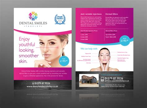 top 10 must read leaflet flyer design tips from a pro 5 dentist leaflet flyer design exles for inspiration