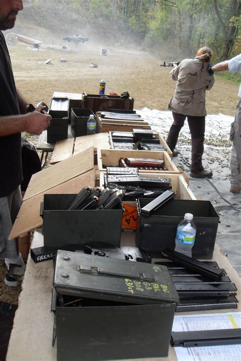 Knob Creek Range by Knob Creek Gun Range Annual Machine Gun Shoot October