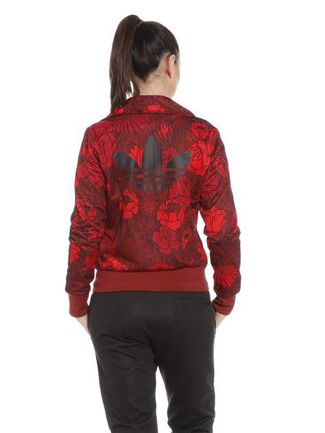 Pusat Sweater Adidas Reds adidas firebird track jacket in floral