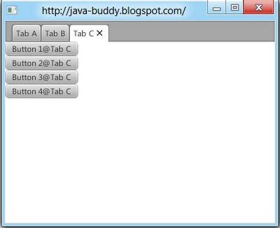 javafx layout alignment java buddy javafx 2 0 add content to tabs