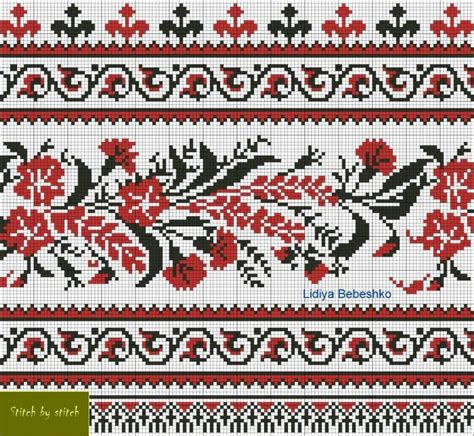 pattern rule for 1 8 27 64 411 best вышивка рушники images on pinterest