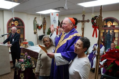 cardinal dolan gives blessing to new bronx home for