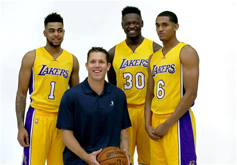 La Lakers 1 a look at lakers 2016 17 roster la times
