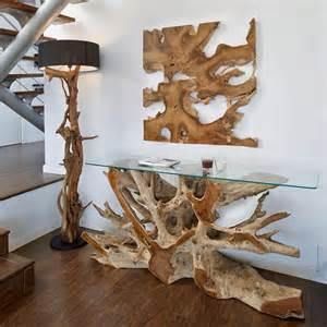 tisch wurzel tisch aus baumstamm wurzelholz forafrica