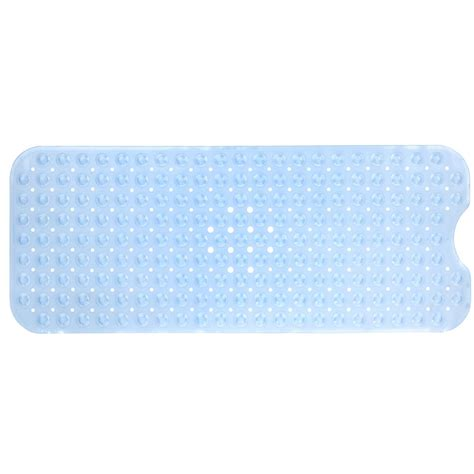 Light Blue Bath Mat by Slipx Solutions 16 In X 39 In Bath Mat In
