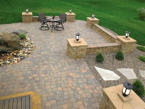 Backyard Paver Patio Backyard Paver Patio Designs Marceladick