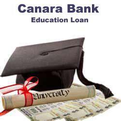 canara bank housing loan canara bank education loan