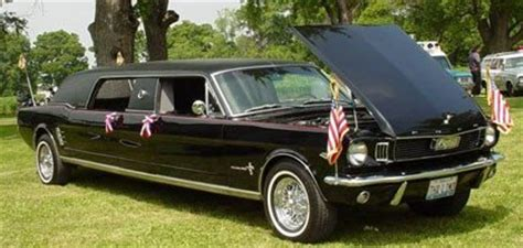 mustang limo 1966 ford mustang limousine lo que me faltaba por ver