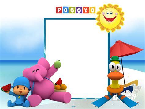 Marcos De Pocoy Marcos Infantiles Para Fotos | pocoyo marcos e imagenes de pocoyo