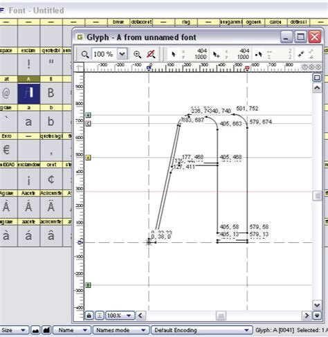 fontlab design how to design a font part 4 finishing touches go