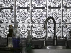 Tin Tiles For Kitchen Backsplash Tin Backsplashes Hgtv