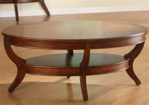 Oval Wooden Coffee Table 20 Top Wooden Oval Coffee Tables