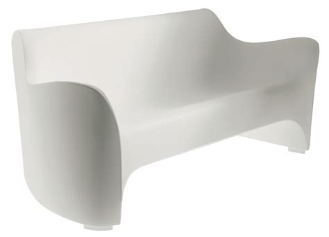 plastic outdoor sofa uk tokyo pop sofa white by driade
