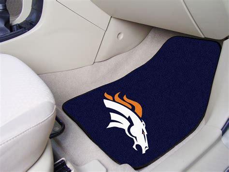 Broncos Car Mats by Denver Broncos Nfl Football Logo Car Floor Mats Carpet