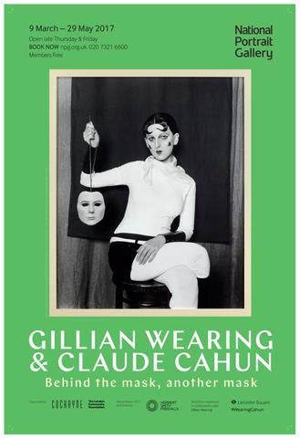 gillian wearing and claude posters national portrait gallery