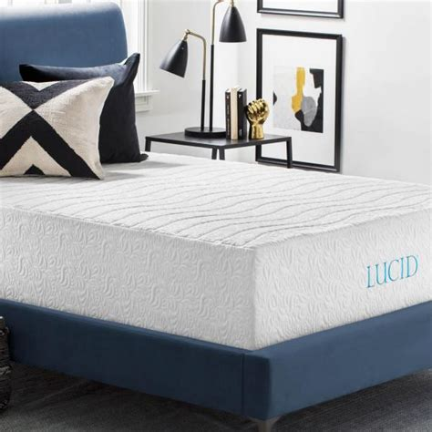 lucid bed lucid mattress all images lucid lavender mattress topper