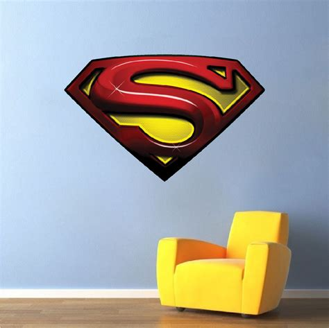 superman wall sticker superman decal mural heroes wall decals primedecals