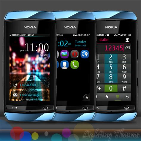 themes for touch mobile lighting theme full touch i free nokia series 40 themes