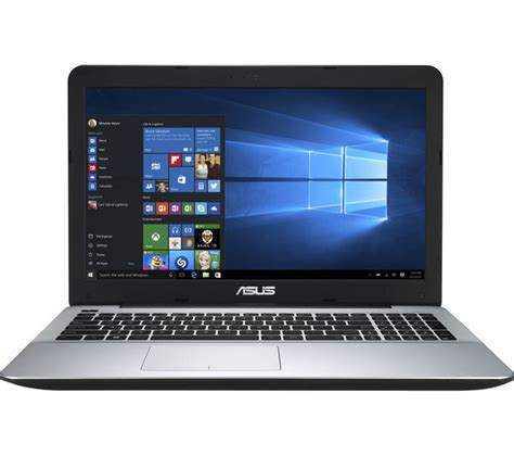 Asus Laptop Black Screen No Drive Light buy asus x555la 15 6 quot laptop black free delivery currys