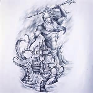 tattoo poseidon art artist on instagram