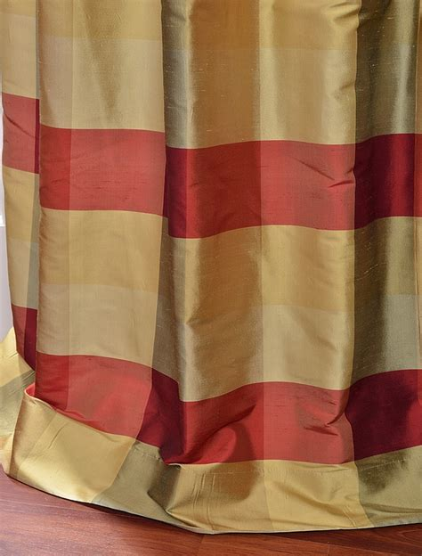 plaid silk drapes 47 best ideas about drapes on pinterest brown bedding