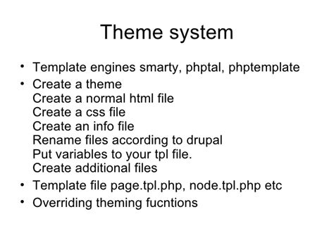 drupal theme variables drupal 6 in a nutshell