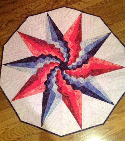 bargello christmas tree quilt pattern stargello table topper by raggedycorners on etsy spicy