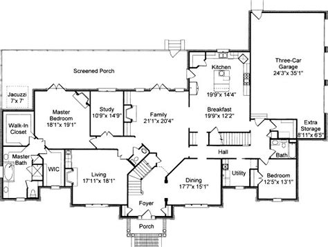 colonial style floor plans colonial house floor plans traditional colonial house