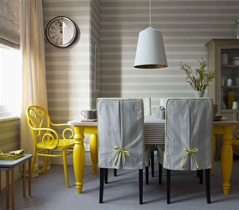 Grey And Yellow Dining Room Ideas by Home Decor News For Jan 4 2013 Popsugar Home