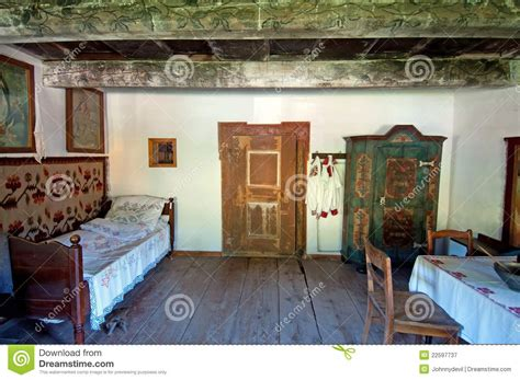 wooden house interior royalty  stock photography