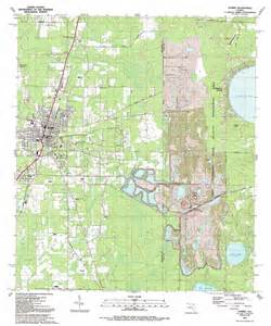 map of starke florida starke topographic map fl usgs topo 29082h1