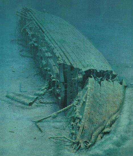 titanic real boat underwater titanic s sunken sister ship to become underwater museum