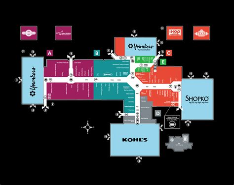 layout of fayette mall mall directory design www pixshark com images