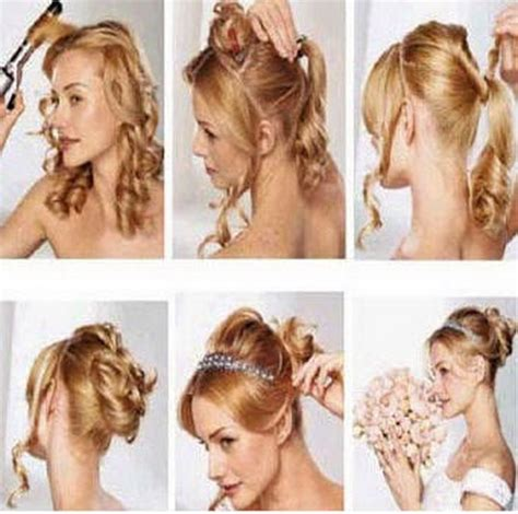 Do It Yourself Wedding Hairstyles For Medium Hair by Do It Yourself Hairstyles Hair